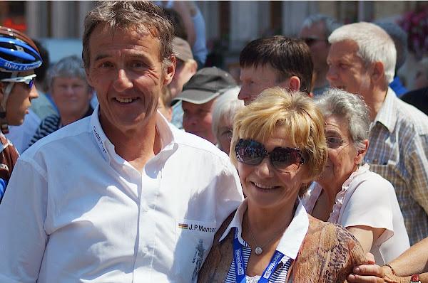 Rino Vandromme en mevrouw Monseré