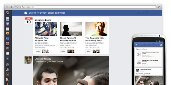 New Facebook 2013