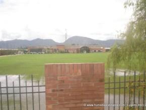 Zona inundable en instalaciones deportivas