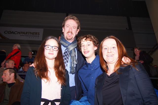Frederik Deburghgraeve, Roeselares trots met zijn gezin