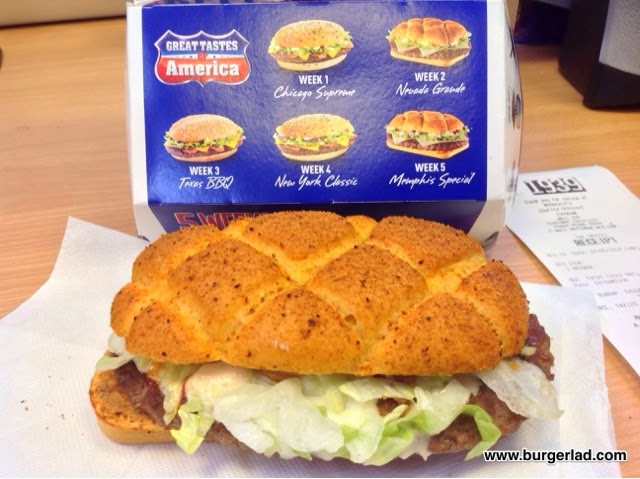 McDonald's Nevada Grande Burger