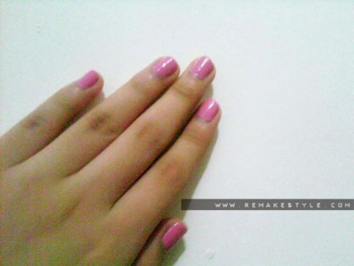 NOTD: Pink Vibe – Korean Lete Nail Polish Review