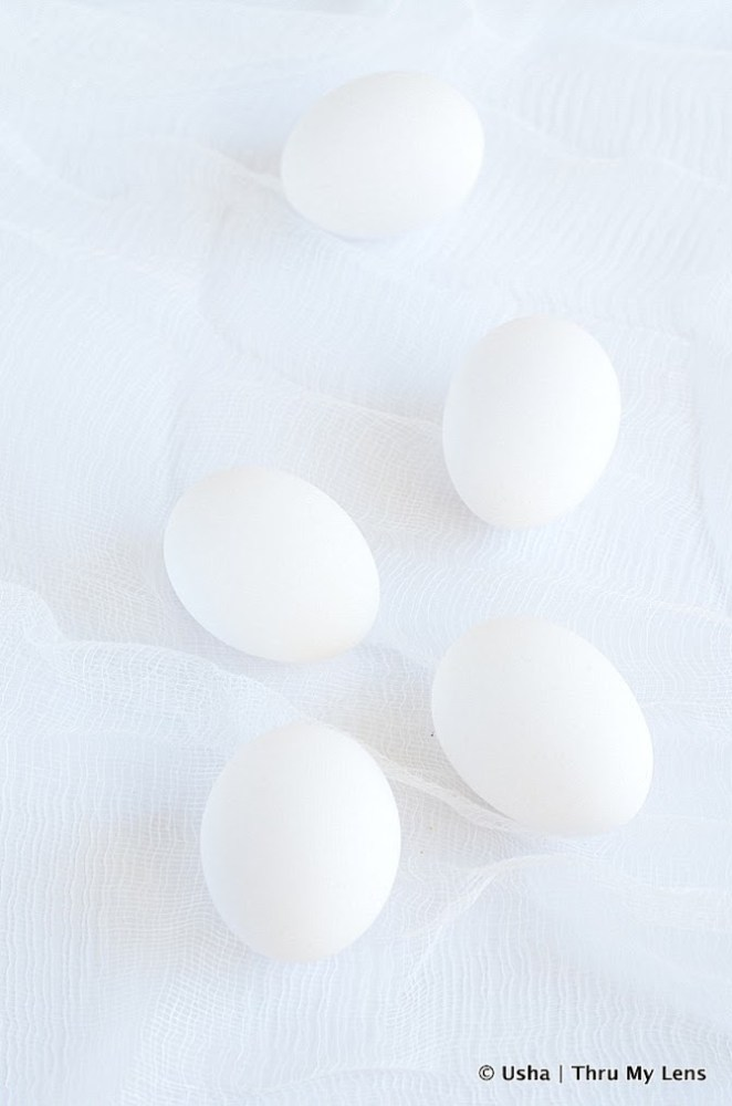 White on White, Eggs, Cooking with Eggs,