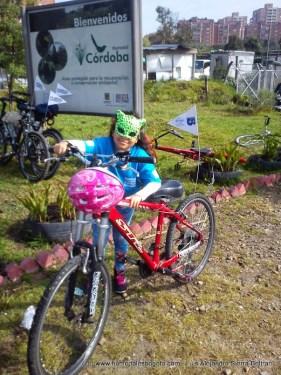 Preparada para la bicicaravana