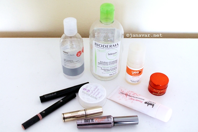 Beauty: Recently emptied