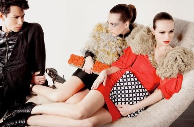 fashion editorial extravagant clothing