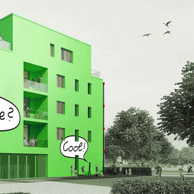 *真正的綠能建築BIQ:建築師Splitterwerk由海藻產生電能! 2