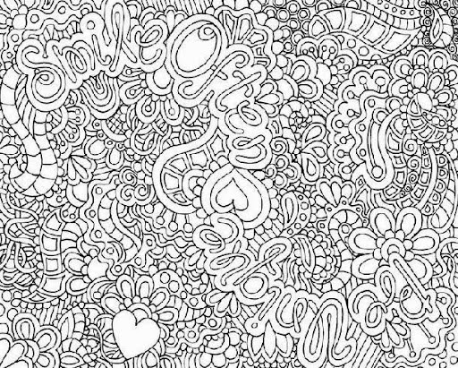 hard abstract coloring pages abstract coloring pages