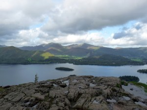 Coledale Horseshoe from Walla Crag