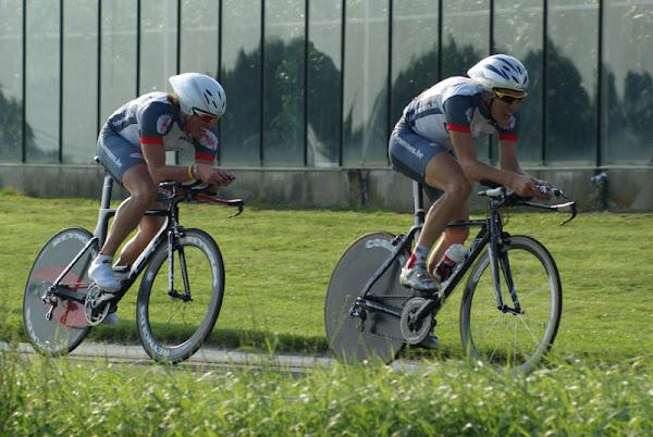 Bernard Maes tijdens Hooglede duo Classic 2010
