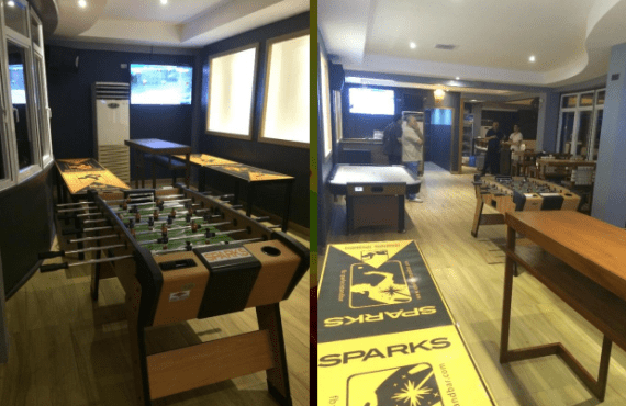 sparks club and sports bar tomas morato quezon city