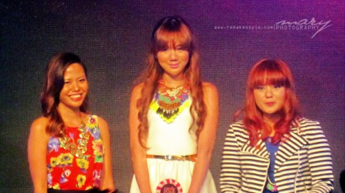 Candy Style Awards 2012 - Rockwell Tent, Makati City - May 4, 2012 - Camille Co