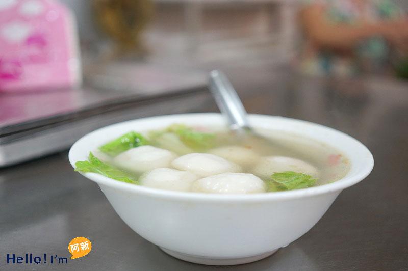 清水第一市場,清水園仔湯(明肉圓仔湯)-7