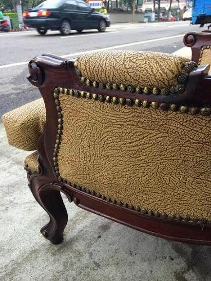 歐式單人沙發