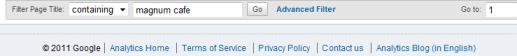 Sidebar Google Analytics