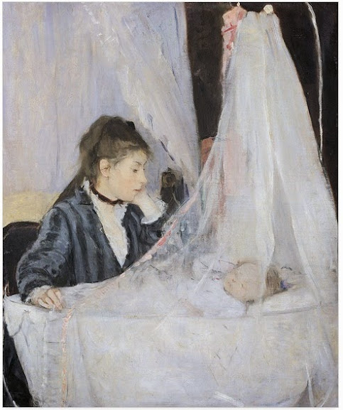 The Cradle - Berthe Morisot - Maternidade