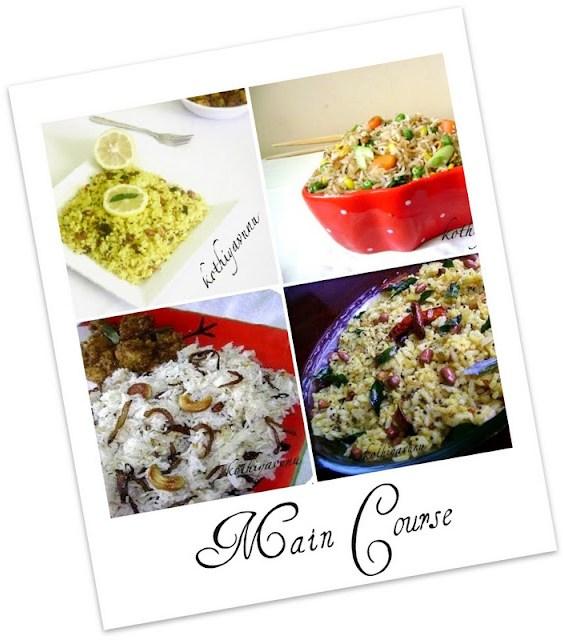 Veg-Recipes -Main Course |kothiyavunu.com