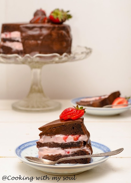 Tort de ciocolata fara gluten