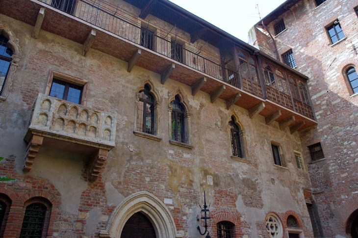 Casa de Julieta en Verona