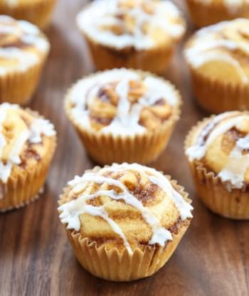 Cinnamon Roll Muffins from Kirbie's Cravings