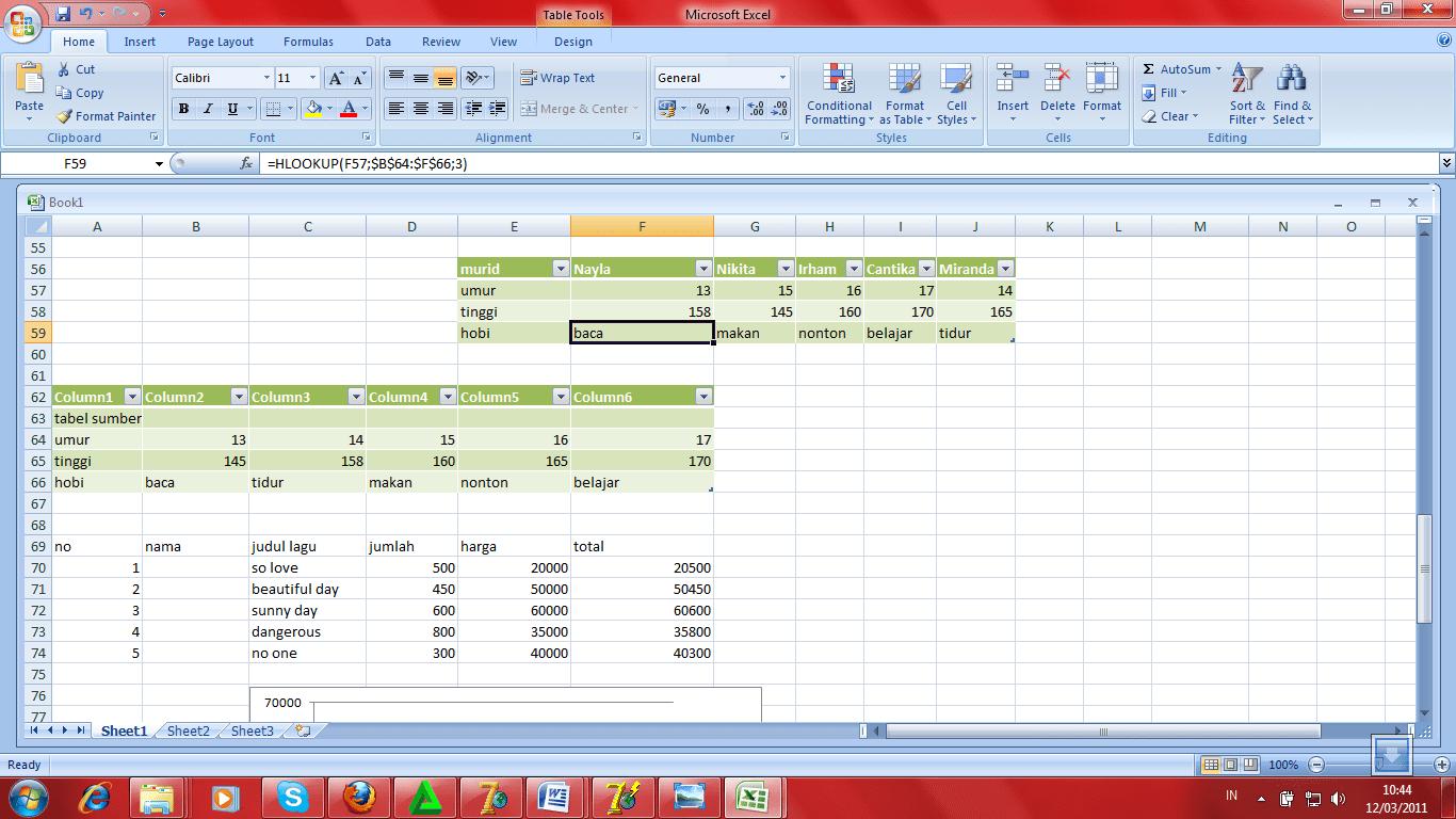 Rashin Coatie Microsoft Excel