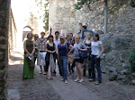 Intercambio Truro.- Visita a Gibralfaro, Alcazaba y Teatro romano
