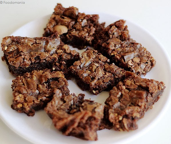Ferrero Rocher Brownie Bars Recipe | Awesome Eggless Brownies