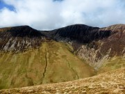 Wandope, Crag Hill and Sail from Knott Rigg ridge
