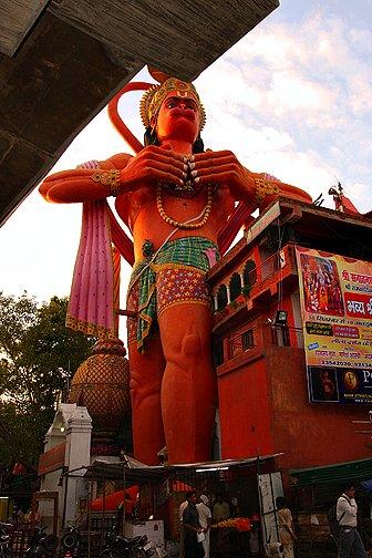 Hanuman Temple of the Monkey God