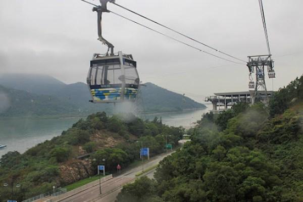 cable car ride hong kong, lantau island cable car