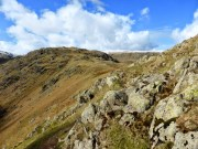 Ridge to Calf Crag from near Gibson Knott