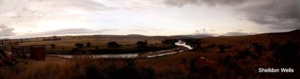 Buffalo River Panorama