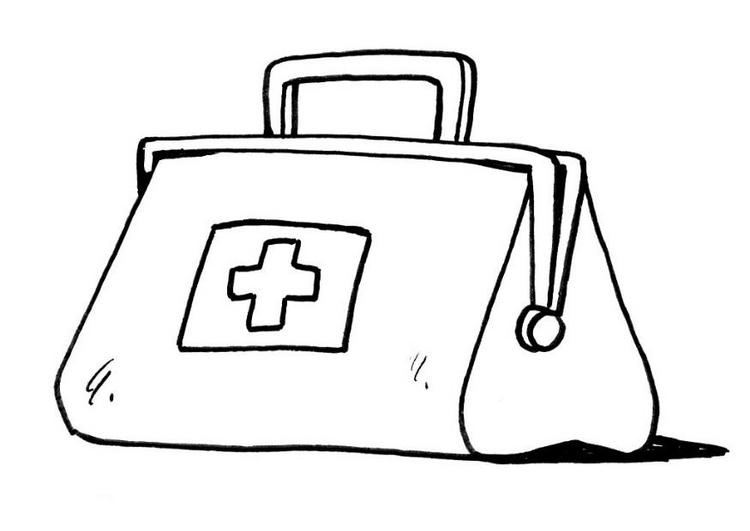 first aid kit free coloring pages coloring pages
