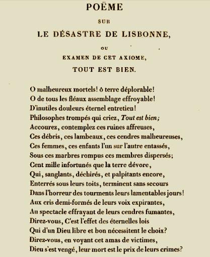 Primera página del Poema de Voltaire.