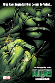 IncredibleHulks_635_Teaser Marvel Comics August 2011 Solicitations