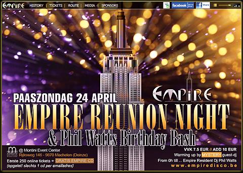 Empire Reunion Night