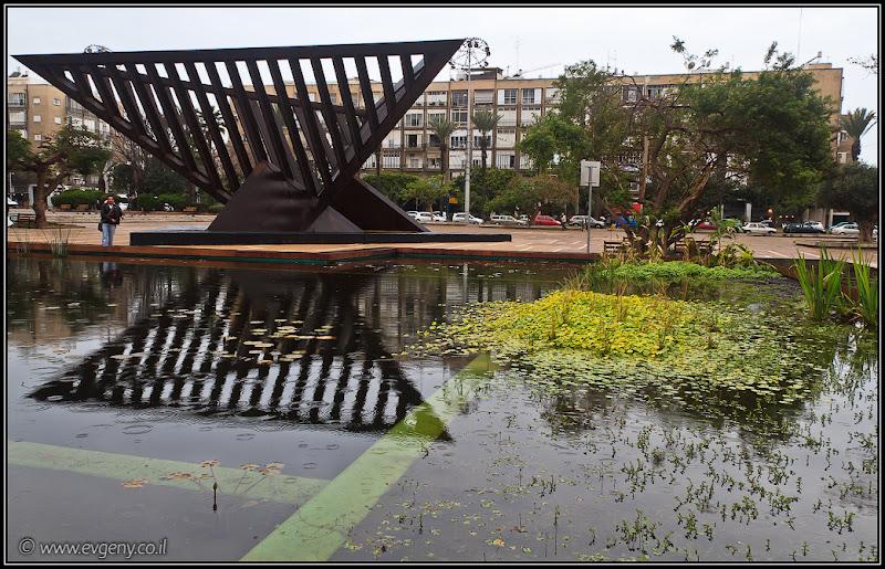Фото: Тель Авив: Площадь Рабина. Обновленная