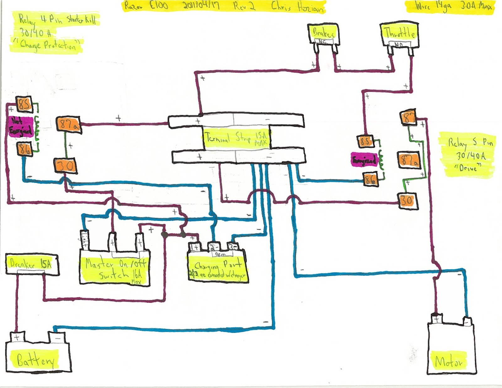 satellite electric scooter razor wiring diagram 12v trusted wiring electric  motor wiring diagram electric scooter wiring