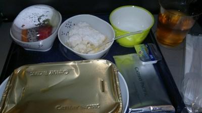 Sarapan Di Cathay Pacific