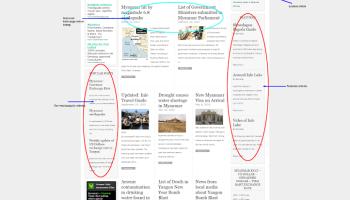 Myanmar Today new site design