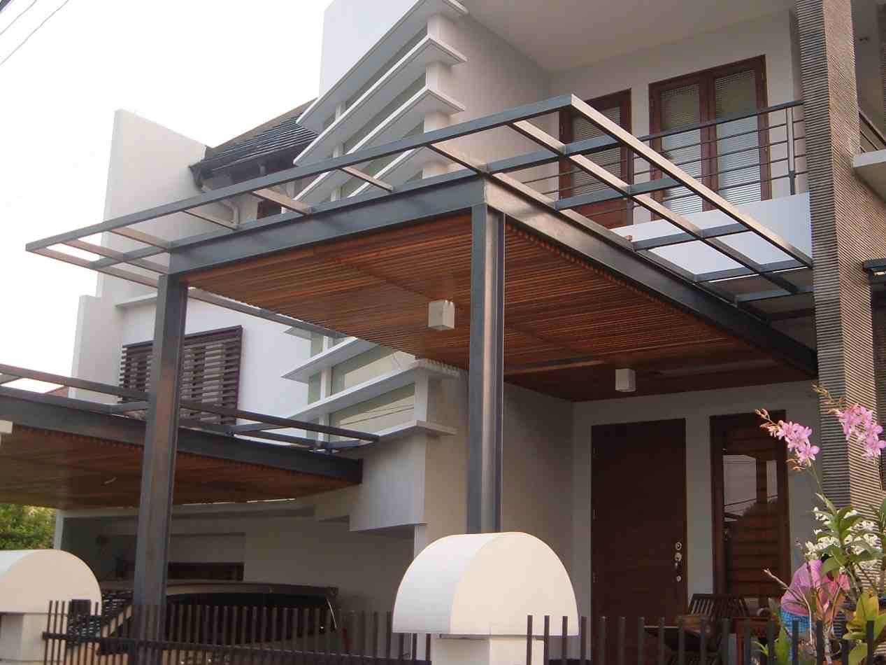 Gambar Kanopi Dari Kayu Desain Rumah