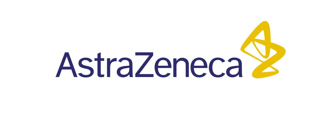 astrazeneca logo white background