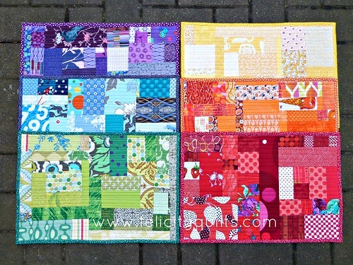 Felicity Quilts First Finish Of 2014 Slabby Placemats