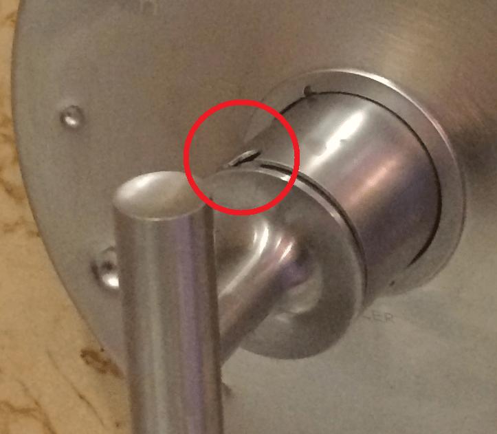 bathroom faucet handle removal no set