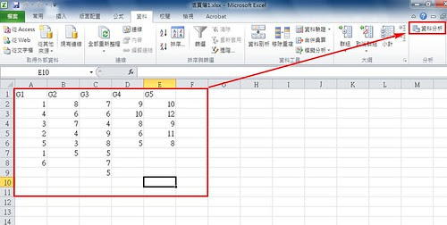b4worker: [研究所]用Excel做單因子變異數分析