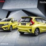 Honda Jazz Kuning Lemon