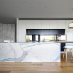 Marble And Rose Gold Is The Stunning Kitchen Erigiestudio
