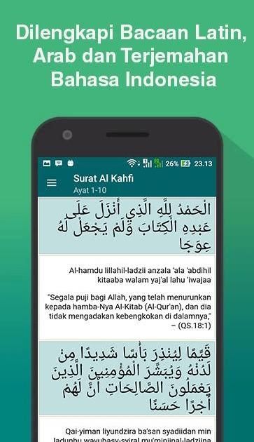 Surat Al Kahfi Ayat 29 : surat, kahfi, Surah, Kahfi, Latin, Mudah