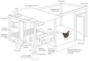 Poulaillers Tuto Comment Construire Un Poulailler