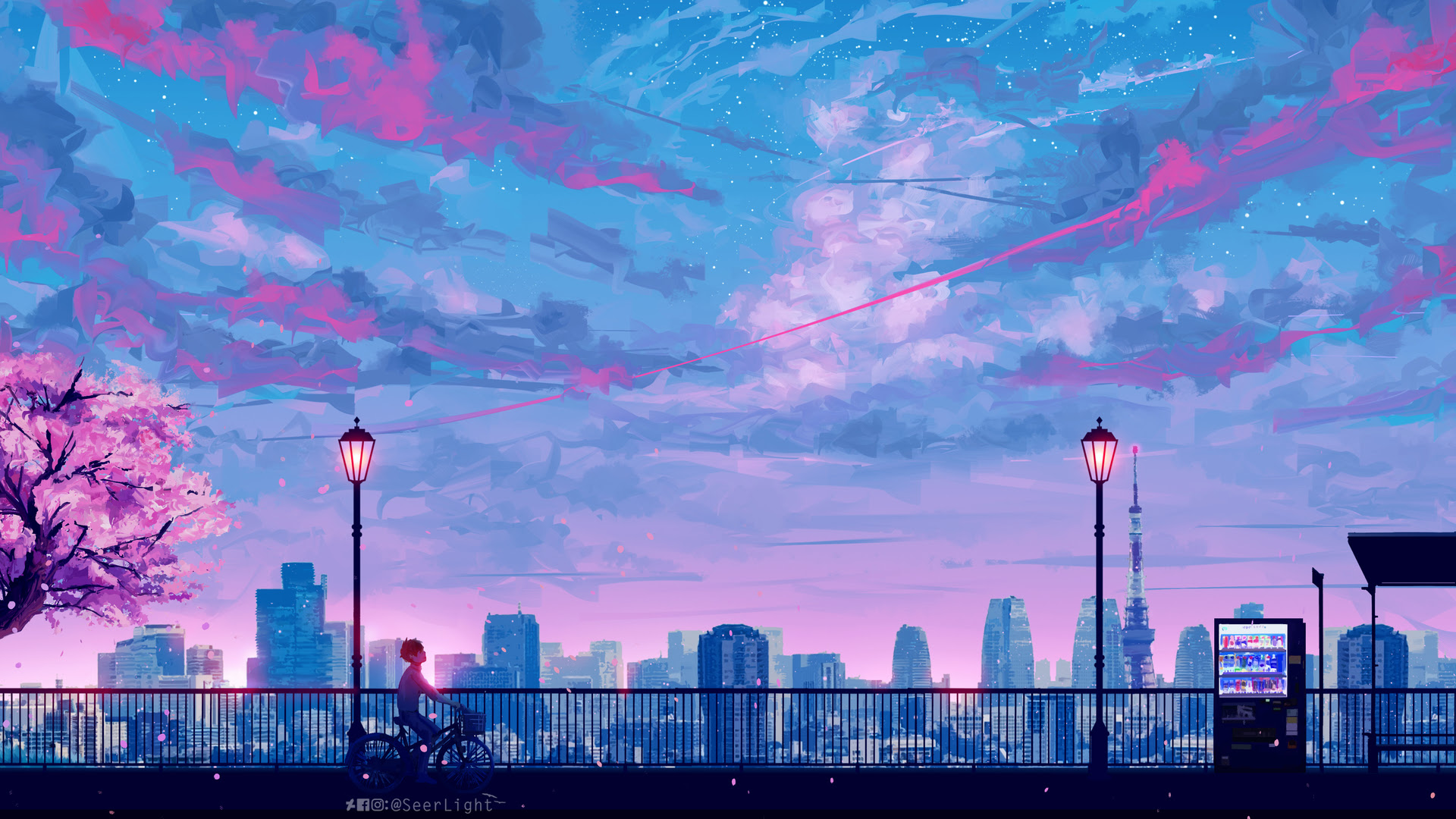 Aesthetic Anime Wallpaper 1920x1080